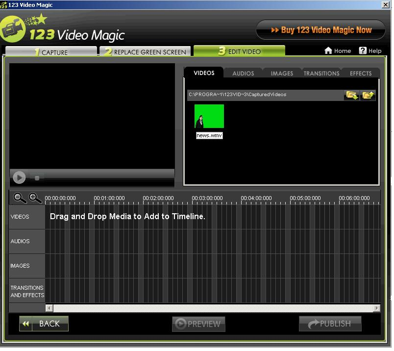 123VideoMagicPro Video Editing Software 5.0