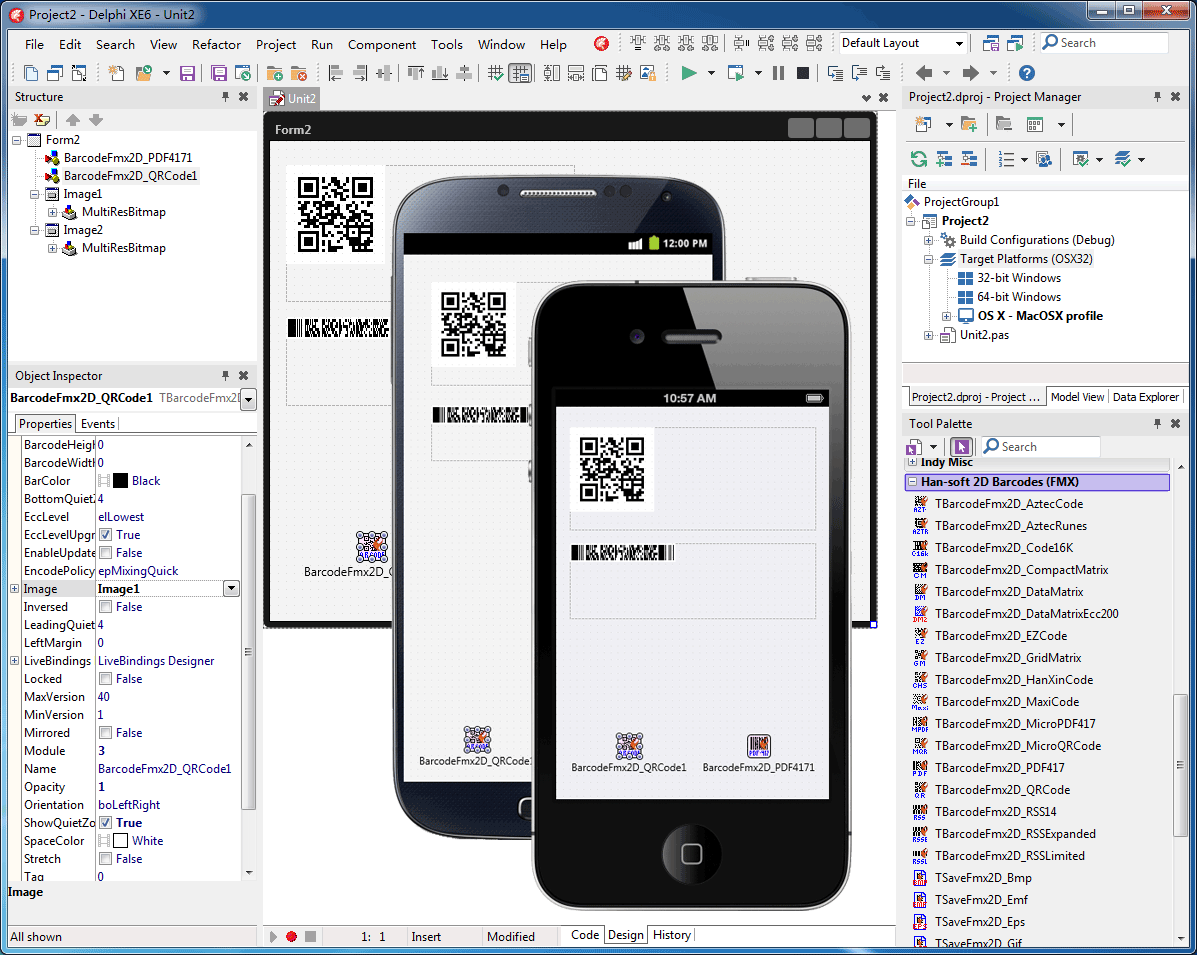 2D Barcode FMX Components 7.0.2.849