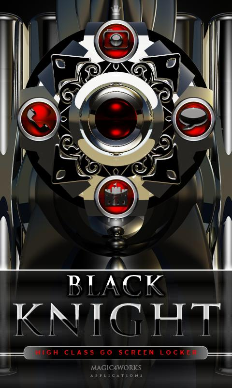 3D black knight GO Locker 1.0