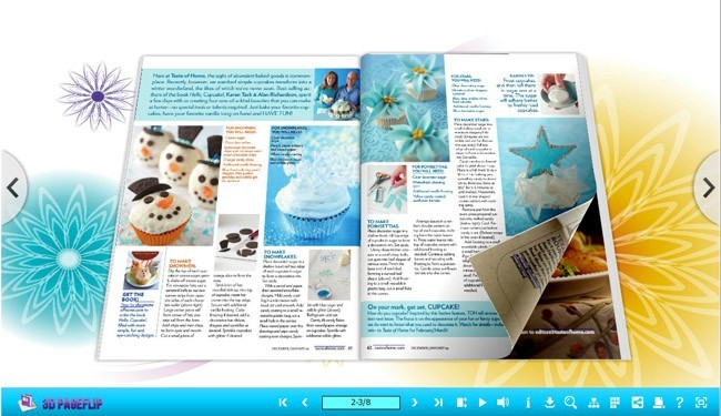 3D Page Flip book with Joyful Theme 1.0