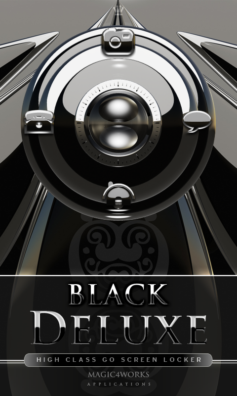 3D screen lock black deluxe GO 1.0
