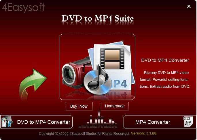 4Easysoft DVD to MP4 Suite 3.3.38