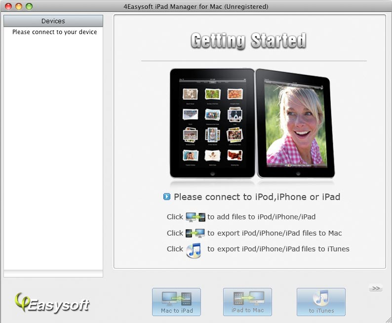 4Easysoft iPad Manager for Mac 4.0.18