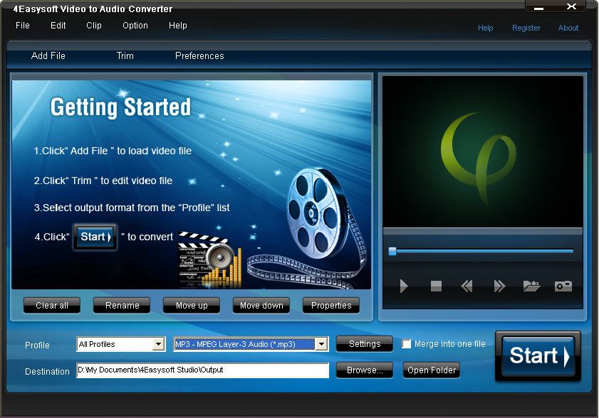 4Easysoft Video to Audio Converter 3.2.38