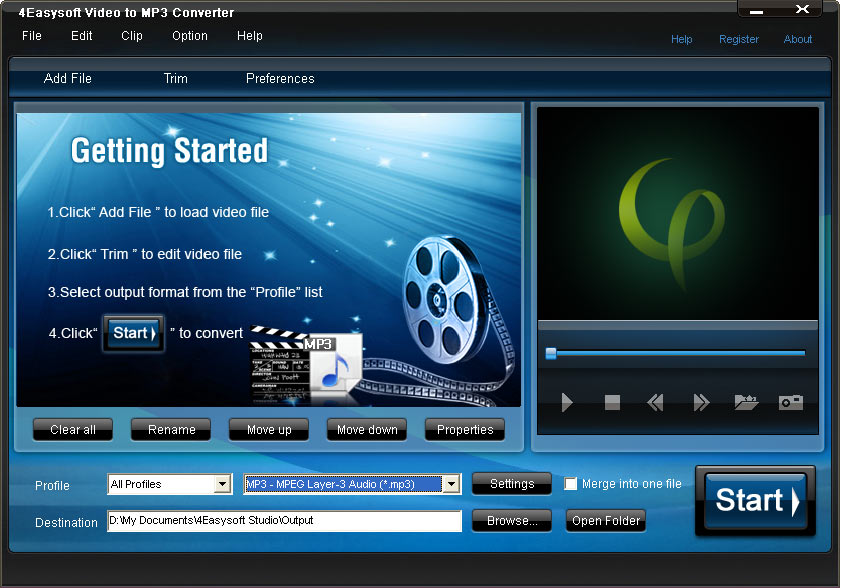4Easysoft Video to MP3 Converter 3.3.02