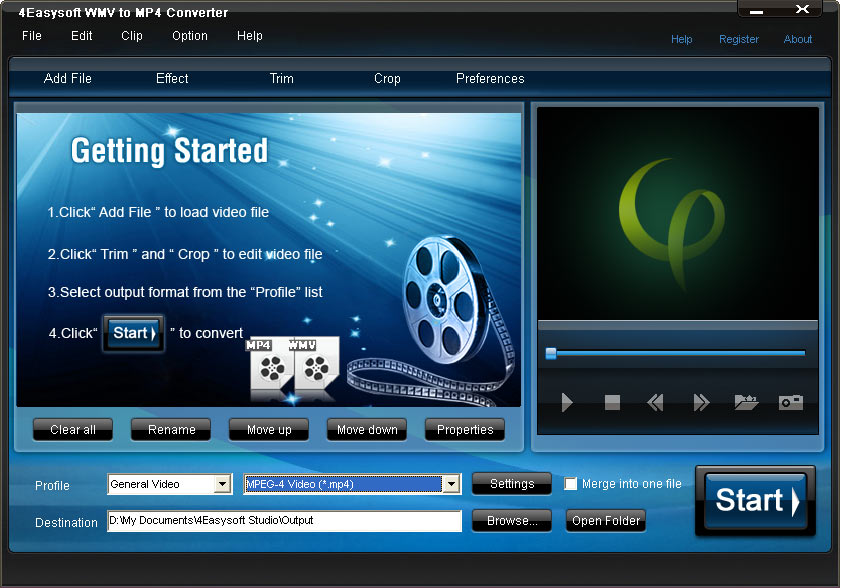 4Easysoft WMV to MP4 Converter 3.2.08