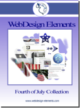 4th of July Web Elements 1.0