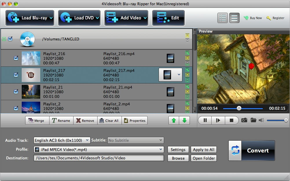 4Videosoft Blu-ray Ripper for Mac 5.5.18