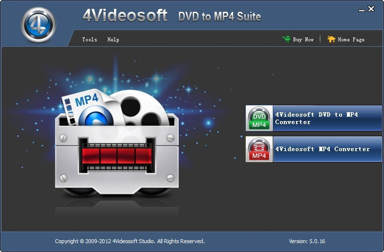 4Videosoft DVD to MP4 Suite 5.0.20