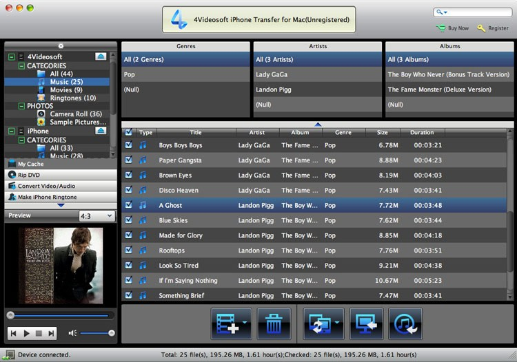 4Videosoft iPhone Transfer for Mac 7.0.20