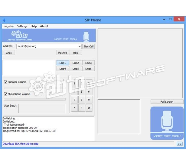 ABTO Software VoIP Video SIP SDK 4.7