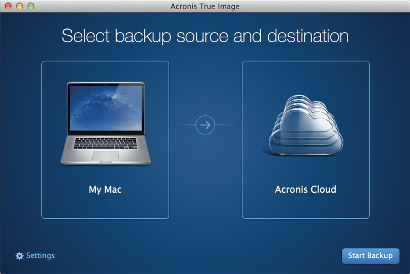 Acronis True Image 2015 for Mac 1.1