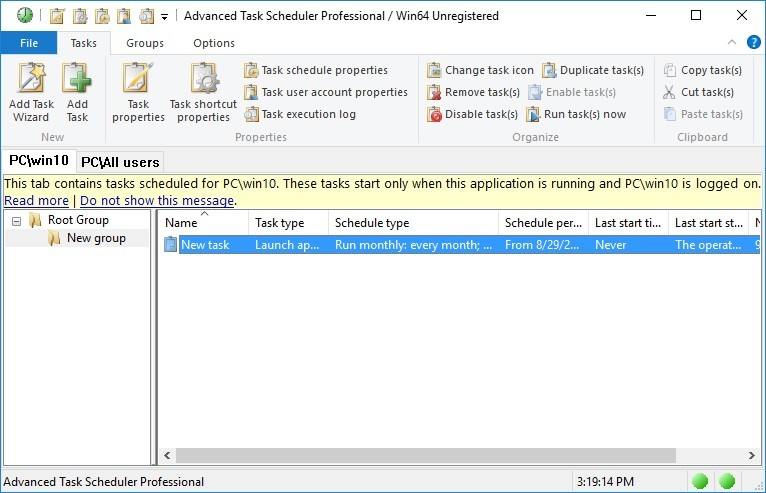 Advanced Task Scheduler Professional 5.0.0.700