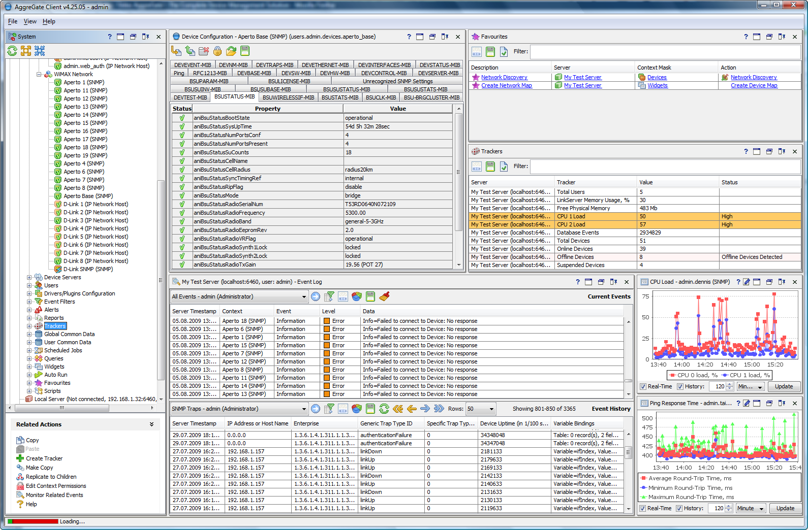 AggreGate Network Manager 5.11.03