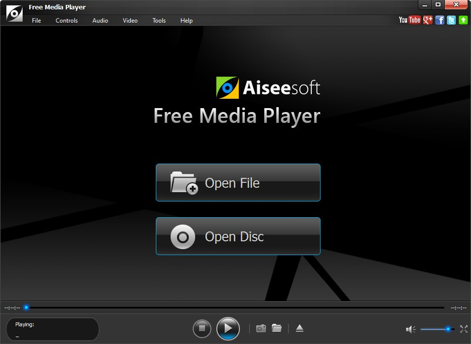 Aiseesoft Free media Player 1.0.18