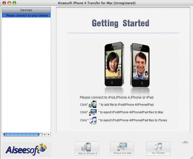 Aiseesoft iPhone 4 Transfer for Mac 3.2.26