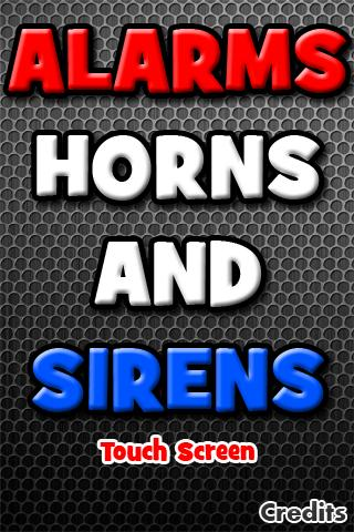 Alarms, Horns and Sirens 1.0