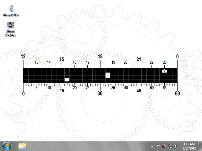 Animated Cogs Clock Wallpaper 1.0.0