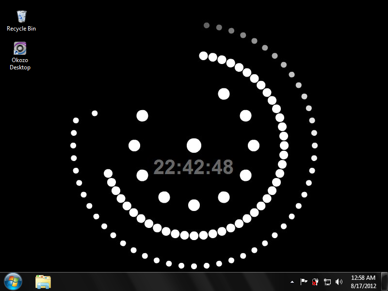 Animated Dots Clock Wallpaper 1.0.0