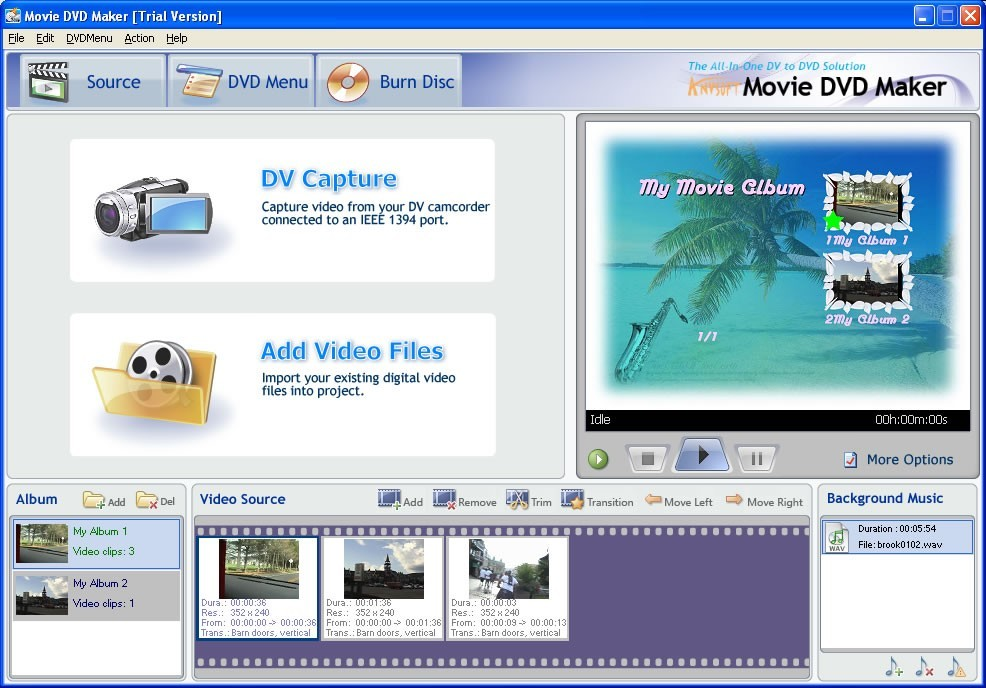 AnvSoft Movie DVD Maker 2.13