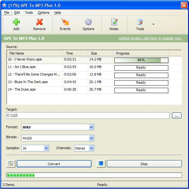 APE To MP3 Plus 1.0