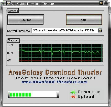 AresGalaxy Download Thruster 2.2.0