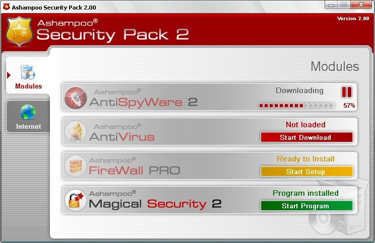 Ashampoo Security Pack 2 2.00