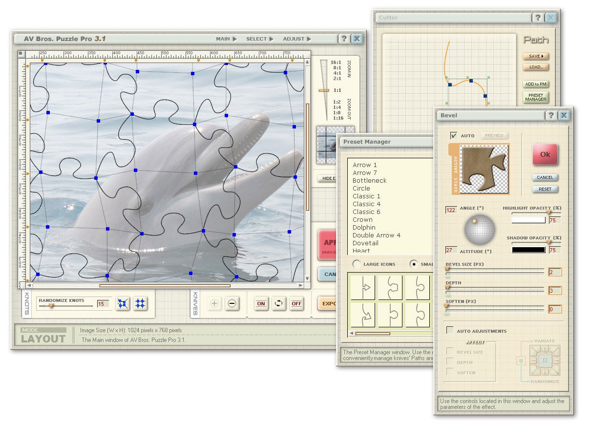 AV Bros. Puzzle Pro for Windows 2.2