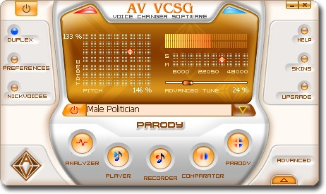 AV Voice Changer Software Gold 7.0.61