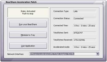 BearShare Acceleration Patch 5.0.6