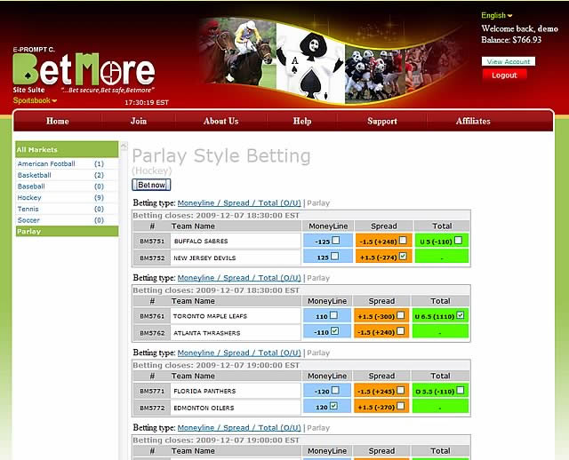 BetMore Silver Sports Betting Software 4