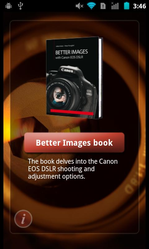 Better Images with DSLR camera 2.7