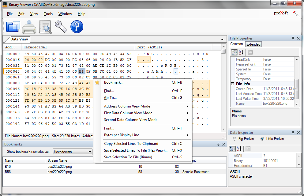 Binary Viewer 3.12.12.24