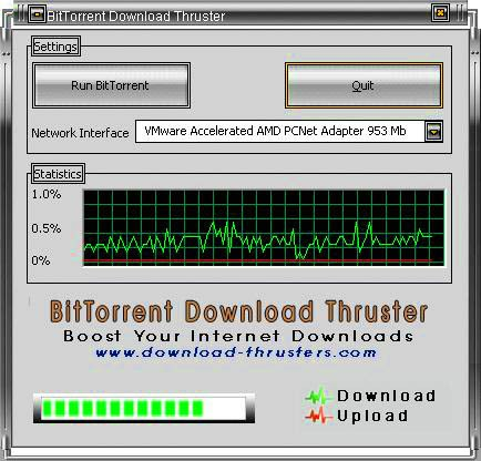 BitTorrent Download Thruster 2.7.0