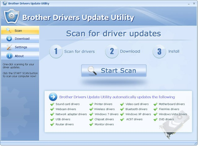 Brother Drivers Update Utility 3.3