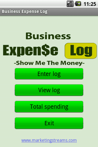 Business Expense Log 1.1