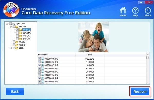 Card Data Recovery Free Edition 3.0.0.1