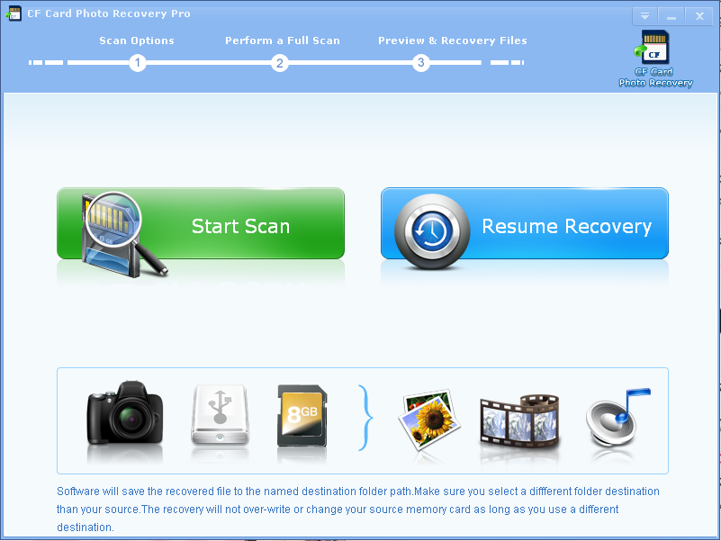 CF Card Photo Recovery Pro 2.7.9