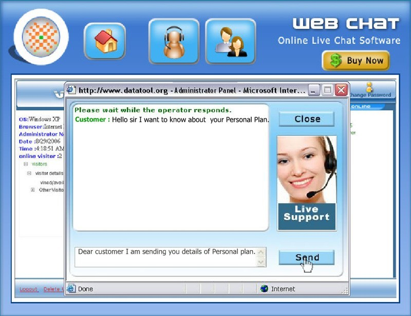 Chat Live With Online Customers 3.0.1.5