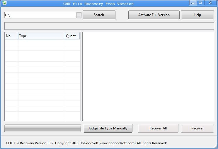 CHK File Recovery 1.02