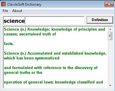 ClassleSoft Definition Dictionary 1.0.0