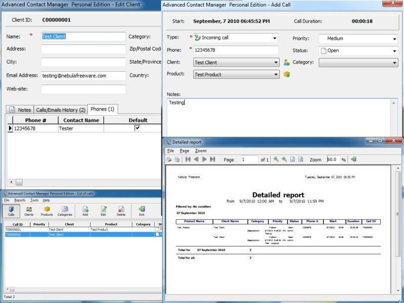Contact Manager Free 1.4
