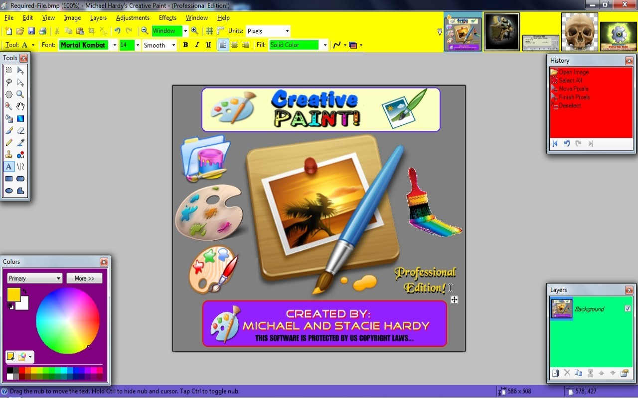 Creative Paint! - Professional Edition! 4.1.13