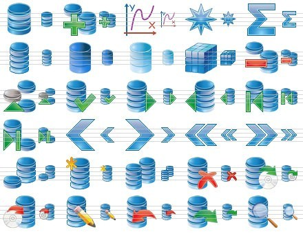 Database Icon Set 2013.1