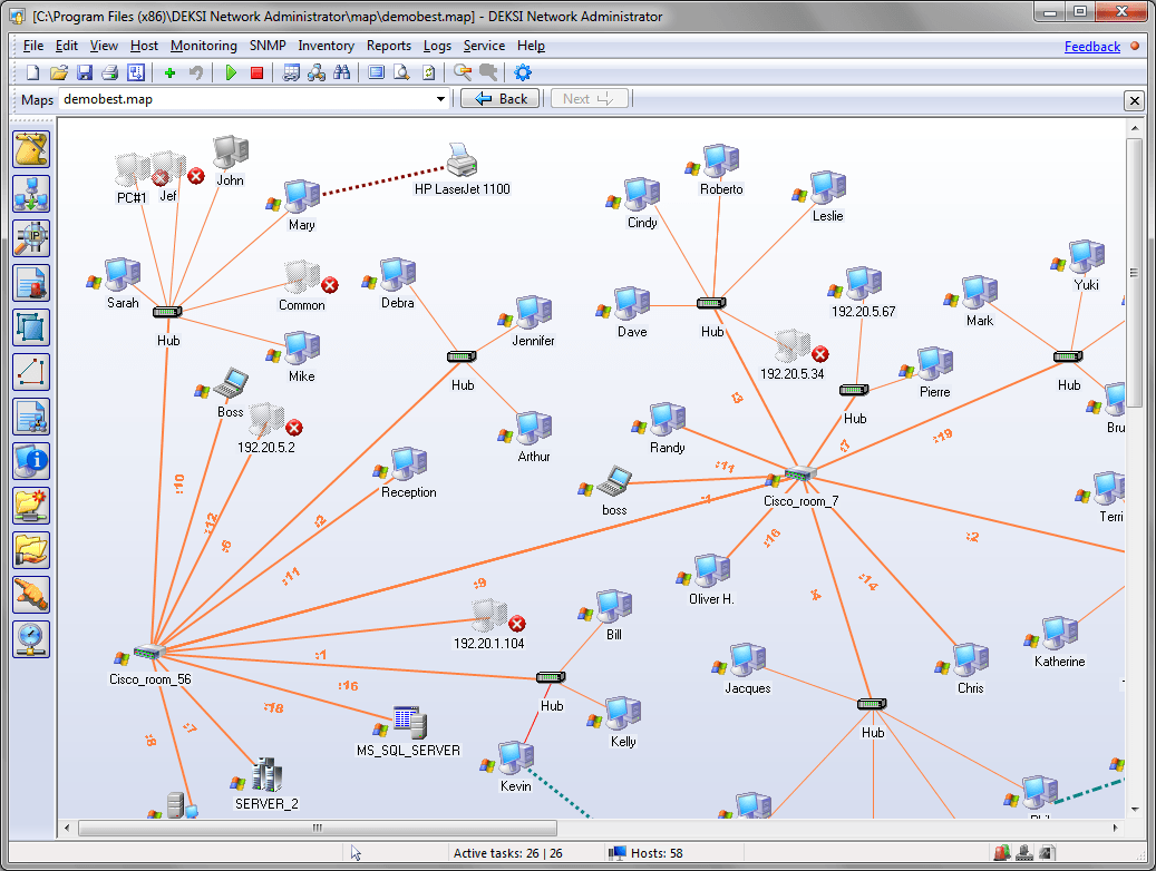 DEKSI Network Monitoring Suite 4.0