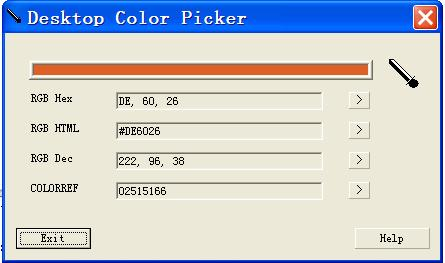 Desktop Color Picker 1.4.0