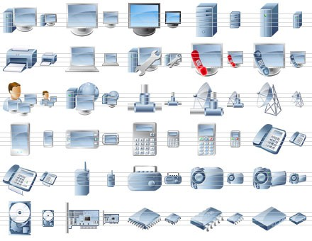Desktop Device Icons 2009.1