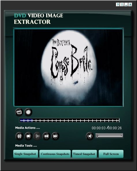 DVD Video Image Extractor 1.1.0.13