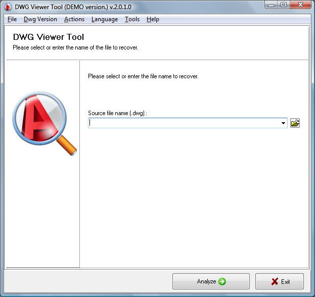 DWG Viewer Tool 2.0.5