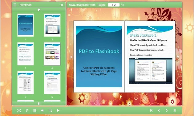 eMagMaker PDF to FlashBook 1.0
